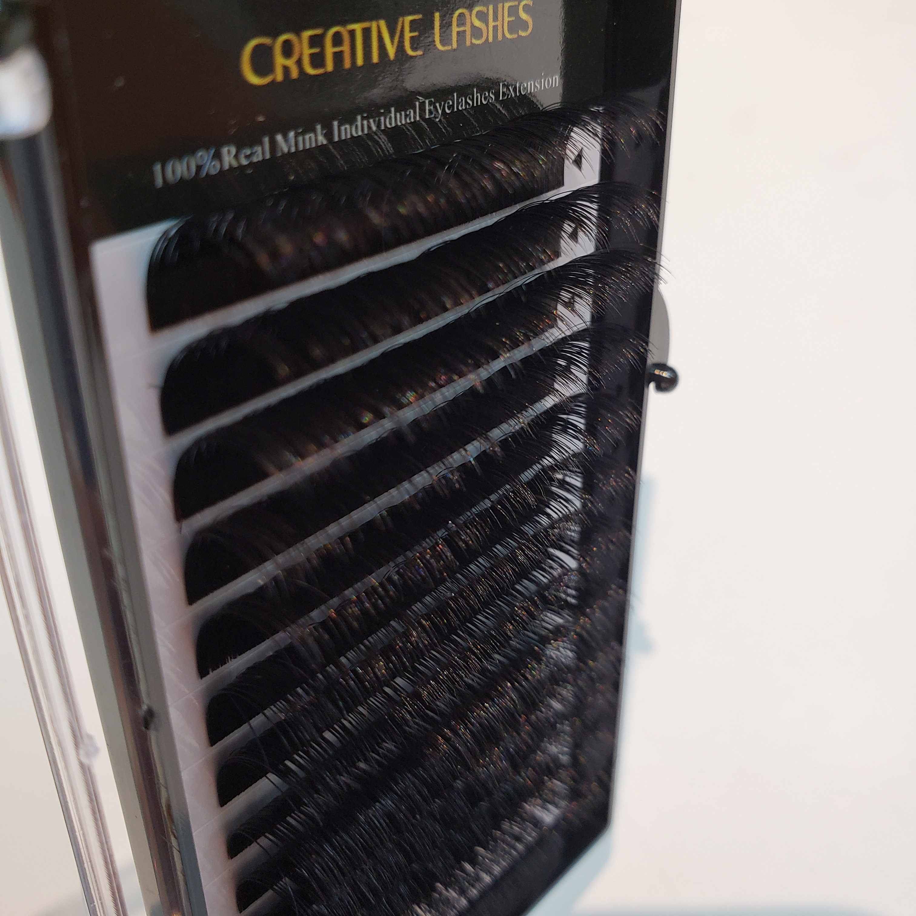 creative Lashes 100% Real Mink D curl Individual Eyelashes Extensions